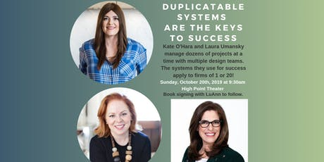 Duplicatable Systems are the Keys to Success tickets
