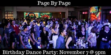 Dance Party for the First Birthday of Page By Page tickets