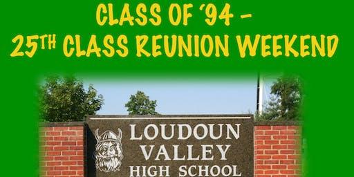 Class of '94 - 25th Class Reunion Weekend