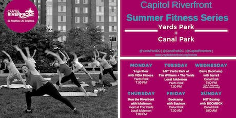 CapRiv Fitness Series: Run the Riverfront w/ The Yards Local Run Club tickets