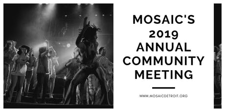 Mosaic's 2019 Annual Community Meeting tickets