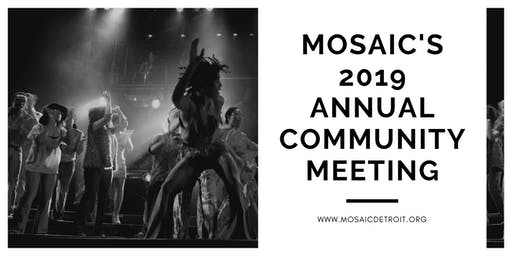 Mosaic's 2019 Annual Community Meeting