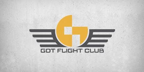 September GDT Flight Club tickets