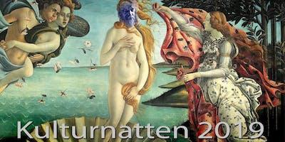 la Galerie du Sacre Bleu kulturnattsvernissage 2019