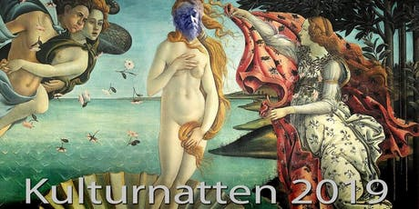 la Galerie du Sacre Bleu kulturnattsvernissage 2019 tickets