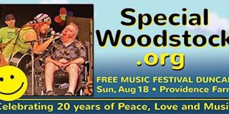 Special Woodstock 2019 tickets