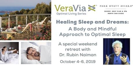 Healing Sleep and Dreams: A Body and Mindful Approach to Optimal Sleep tickets