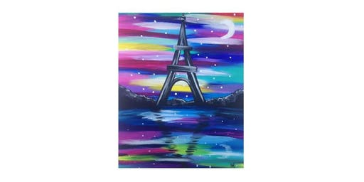 Colorful Eiffel Tower | $25