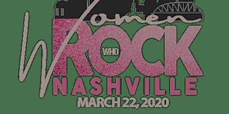 Women Who ROCK Nashville 2nd Annual Black-Tie Gala tickets