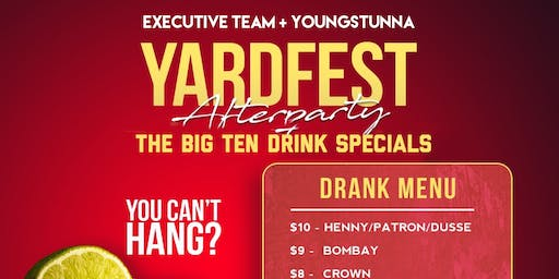 3rd Annual  Yard Fest AFTERPARTY