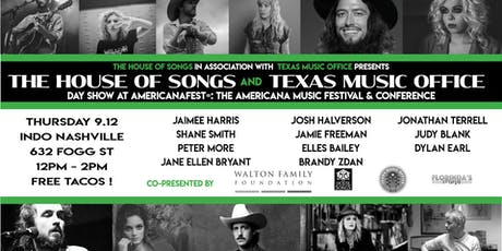 The House of Songs x Texas Music Office Day Show at AmericanaFest tickets