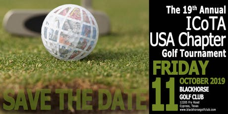 19th Annual ICoTA USA Chapter Golf Tournament tickets