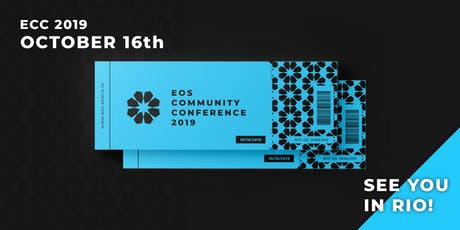 EOS Community Conference 2019 bilhetes