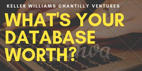 What's Your Database Worth? tickets