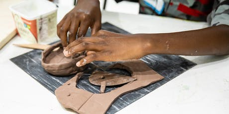 Kids' Hand-Building Ceramics - Friday Classes, 9/6 - 10/4, 4:00 pm - 5:30 pm tickets