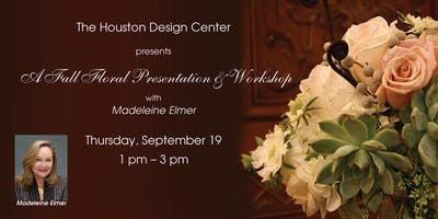 Fall Floral Design Presentation & Workshop with Madeleine Elmer