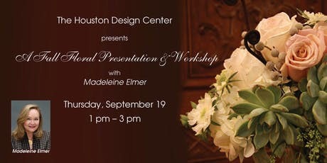 Fall Floral Design Presentation & Workshop with Madeleine Elmer tickets