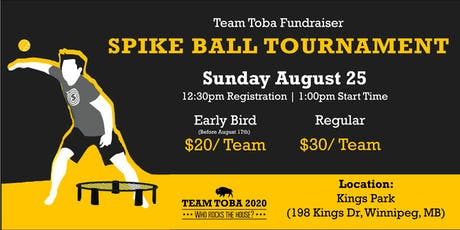 Team Toba: Spikeball Tournament tickets