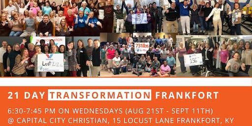 21 Day Transformation - Frankfort