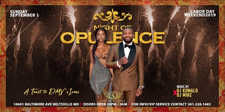 NIGHT of OPULENCE: A Toast to DMV's ICONS tickets
