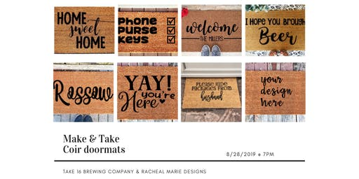 Make & Take Coir Doormat Workshop