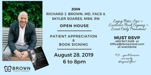 Patient Appreciation & Book Signing - Brown Plastic Surgery