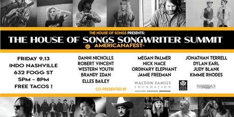 The House of Songs Songwriter Summit at AmericanaFest tickets