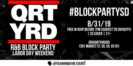 R&B Block Party tickets