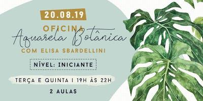 Sew Sisters: Oficina Aquarela Botânica com Elisa