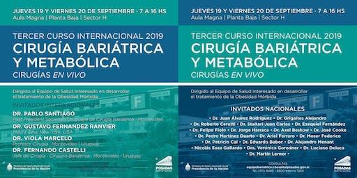 3er Curso Internacional 2019 | CIRUGIA BARIATRICA Y METABOLICA