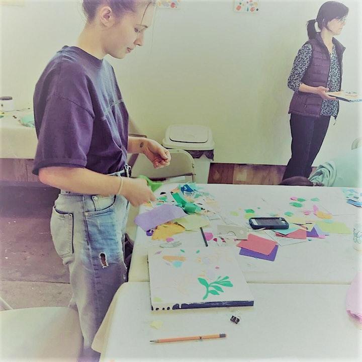 Encaustic Collage Workshop image