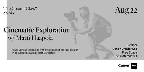 Cinematic Exploration w/ Matti Haapoja tickets