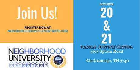 Neighborhood University 2019 - Engage in the Experience tickets