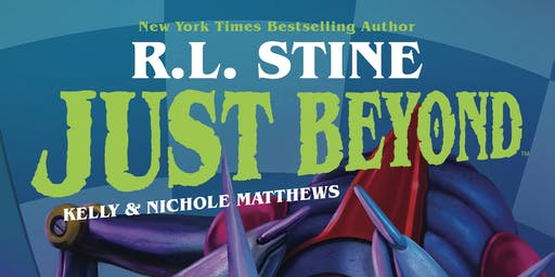 Meet R.L. Stine & Tim Jacobus for JUST BEYOND at B&N - Paramus