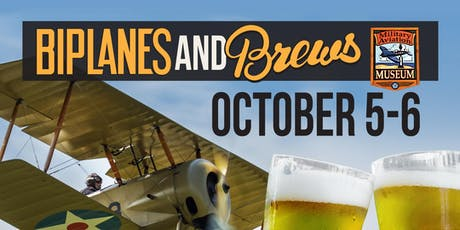 Biplanes & Brews 2019 tickets