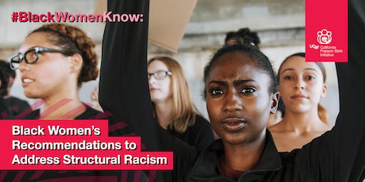 #BlackWomenKnow: Black Women's Recommendations to Address Structural Racism