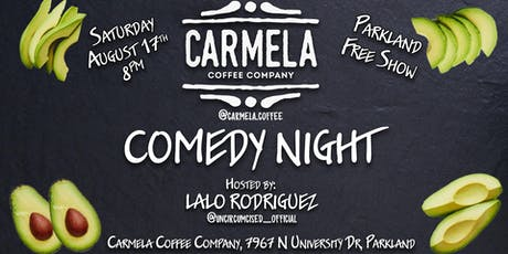 Stand-Up Comedy Show | Carmela Coffee Co (Parkland) tickets