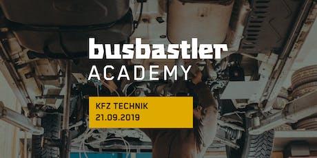 Busbastler Academy - KFZ Technik Tickets