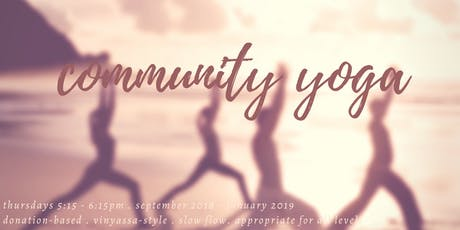 Community Yoga tickets