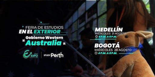 Feria ExpoExterior + Study Perth en MEDELLÍN