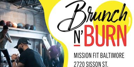 Brunch N Burn August 2019 tickets