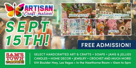 Artisan Craft Festival tickets