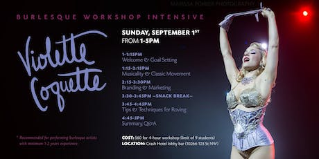 Workshop with Violette Coquette tickets