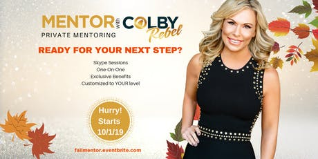 MENTOR WITH COLBY-FALL SERIES tickets