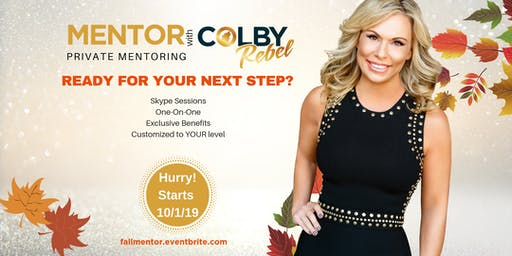 MENTOR WITH COLBY-FALL SERIES
