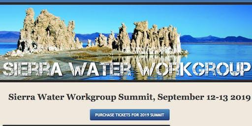 2019 Sierra Water Workgroup Summit