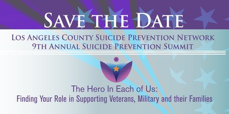Los Angeles County Suicide Prevention Network 9th Annual Suicide Prevention Summit - Day 1 tickets