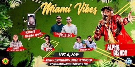 Alpha Blondy @ Miami tickets