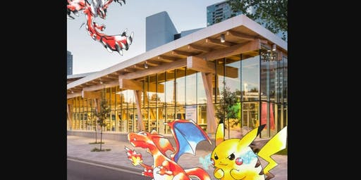 Pokemon Club at the Scarborough Civic Centre Library: August 30, 2019