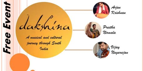 Dakshina - A musical journey through South India tickets